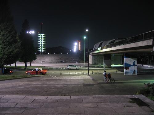 駒沢公園41キロ5連休中