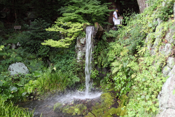 小淵沢へ大滝神社