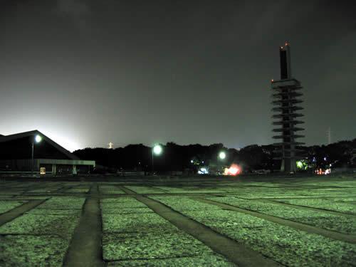 駒沢公園トレーニング31キロ台風一過