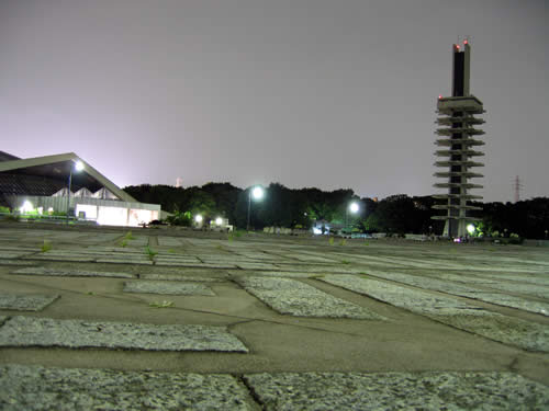 駒沢公園トレーニング31キロなりゆき走行
