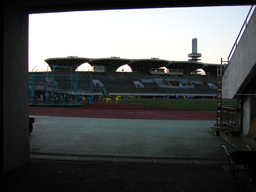 駒沢公園トレーニング