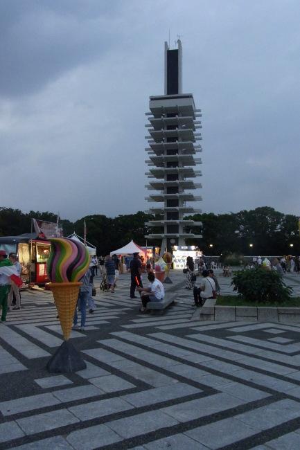 駒沢公園50キロイタリアンジェラートフェアですと