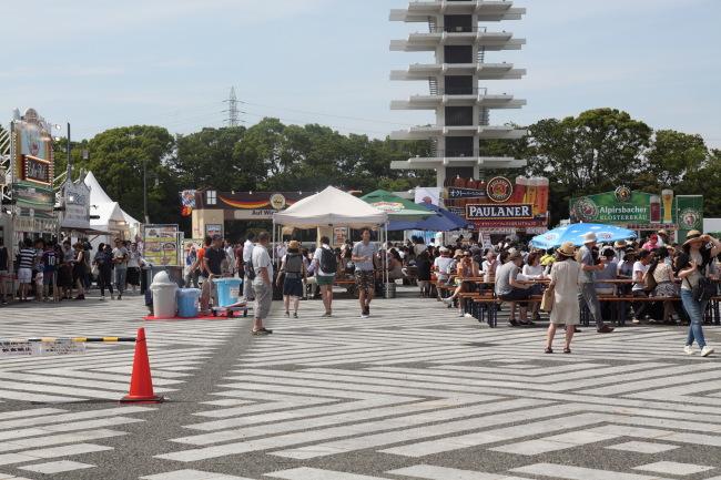 梅雨の晴れ間駒沢公園から羽田まで51キロ